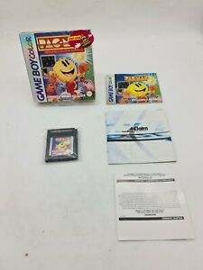 PACMAN PAC-MAN SPECIAL COLOR Nintendo Gameboy Game boy Boxed boite OVP DMG-EUR