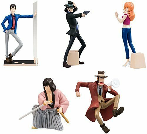 Gashapon Lupin the Third Desktop Figure Collection 2 Set
