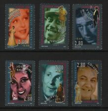 France Stamps 1994, SG 3219-3224 Entertainers Unmounted Mint MNH