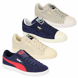 22232dd2455e Mens PUMA Trainers Womens Archive Lite Low Suede Leather Shoes ...