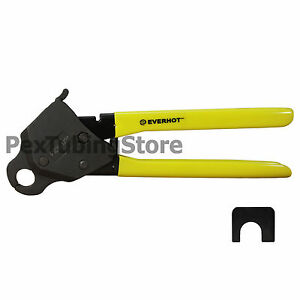 "1/2"" PEX Angle Crimp Crimper Crimping Tool for PEX Tubing w/ Go-No-Go Gauge"