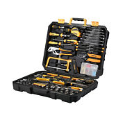 DEKOPRO Mix Home Repair Tool Kit Include 33Pcs Socket Set 165 Basic Home Tools