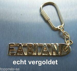 Luxus-accessoires Edler SchlÜsselanhÄnger Maik Vergoldet Gold Name Keychain Weihnachtsgeschenk
