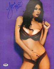 Tera Patrick Signed 11x14 Photo PSA/DNA COA Picture Penthouse Hustler Autograph
