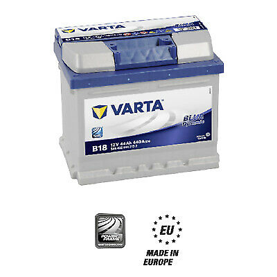 Batteria Auto Varta Blue Dynamic B18 12v 44ah 440A 544402044 207x175x175mm