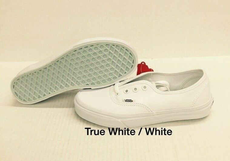 2af6ecfd44 Mens VANS Authentic Canvas True White Vn000ee3w00 US 11 for sale ...