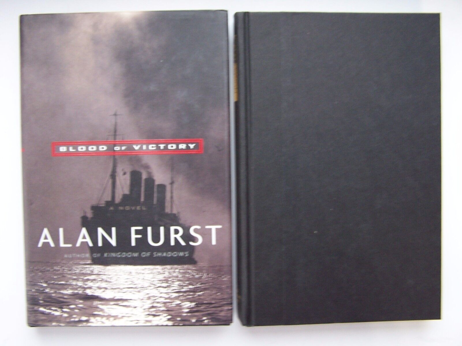Alan Furst Blood Of Victory & Mission To Paris Spy WWII