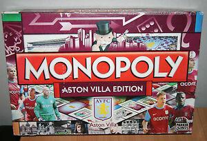 748a81e07548 Image is loading MONOPOLY-ASTON-VILLA-FOOTBALL-CLUB-Board-Game-SPARES-