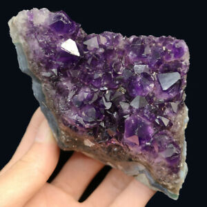 Natural-Amethyst-Geode-Vug-Purple-Crystal-Cluster-Uruguay-Specimen-Reiki-317G