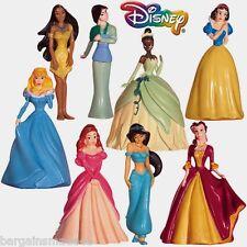 Disney Fairytale Princess Miniature Figurines 8-Piece Doll Toy Set