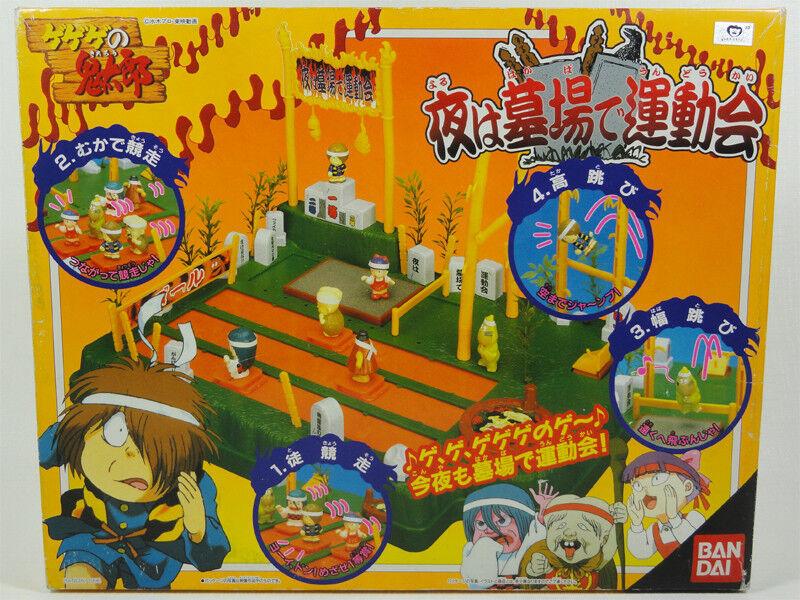 GE GE GE NO KITARO NIGHT ATHLETIC GAMES AT GRAVEYARD GAME BANDAI 1996 DAITARN 3