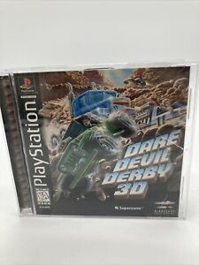Dare Devil Derby 3D Sony PlayStation 1 PS1 Complete Tested Works
