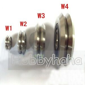 12PC W2 RM2-ZZ 3//8/'/' 9.525*30.73*11.1mm V Groove Sealed Ball Guide Bearings New