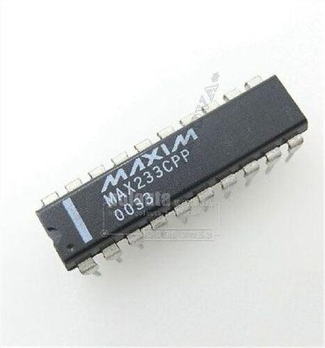 5 Stücke MAX233 MAX233CPP RS232 RS-232 Fahrer Empfänger Ic Neu ls