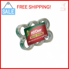 Duck Hd Clear Heavy Duty Packing Tape Refill 6 Rolls 188 Inch X 546 Yard