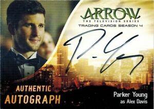 Arrow-Season-4-Autograph-Card-of-Parker-Young-as-Alex-Davis-PY