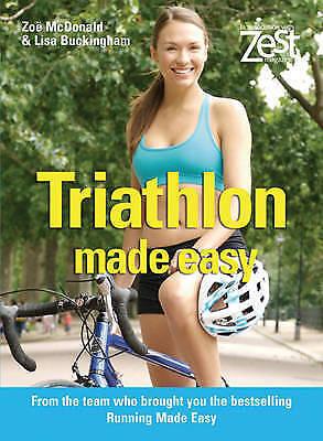 """VERY GOOD"" Zoë McDonald and Lisa Buckingham, Triathlon Made Easy, Book"