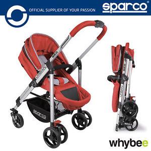 New-00928-Sparco-URBAN-Carrycot-Stroller-Pram-Pushchair-Multi-Function-0-4-Yrs