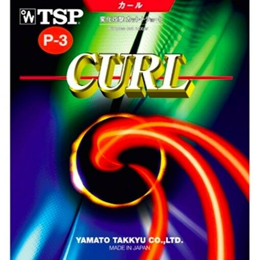 TSP Curl P3 - Long Pips Table Tennis Rubber