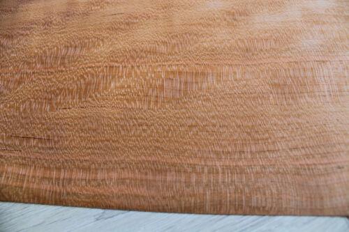 "~1//42/"" ~18,5 x 9,2/"" 47 x 23,5cm 3 sheets Figured Cherry wood veneer 0.6mm"