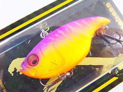 VIBRATION-X DYNA SILENT 51mm 3//8oz #11 PASSION PINK TIGER Megabass