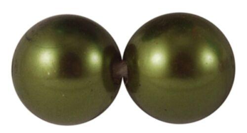 * Acrylique Faux Perles 5 couleurs disponibles. 8mm,10 mm,12 mm /& 14mm La clairance
