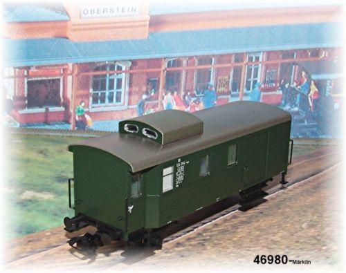 Märklin 46980 Güterzugbegleitwagen DB #NEU in OVP#