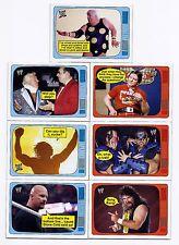 2012 Topps Heritage THE SUPERSTARS SPEAK Complete 20 Card INSERT SET  WWF WWE