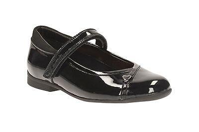 Clarks para niña CIERRE ADHESIVO Zapatos De Escuela Con Cierre ' mavello Lo '