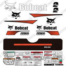 Bobcat S530 Compact Track Loader Decal Kit Skid Steer Curved Stripes