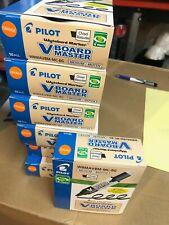 Pilot Wbma Vbm Mc G Bg Begreen V Board Master Whiteboard Marker Orange Box Of 10