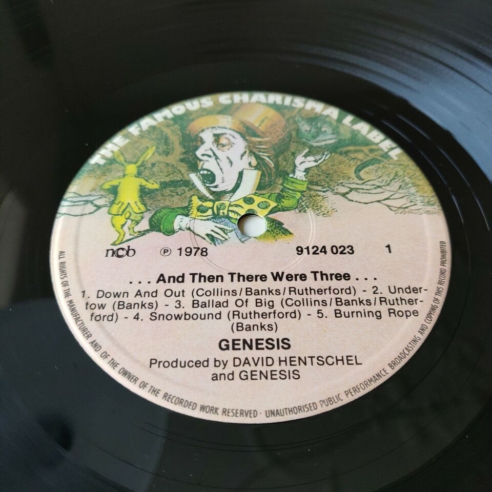 LP, Genesis, ... And There There Were Three ...
