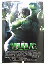 HULK -  Eric Bana - Original Movie Poster - 2003  Rolled DS Adv C9