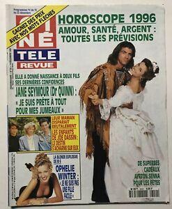 CINE-REVUE-50-1995-JANE-SEYMOUR-SEAN-CONNERY-JOE-DASSIN-OASIS