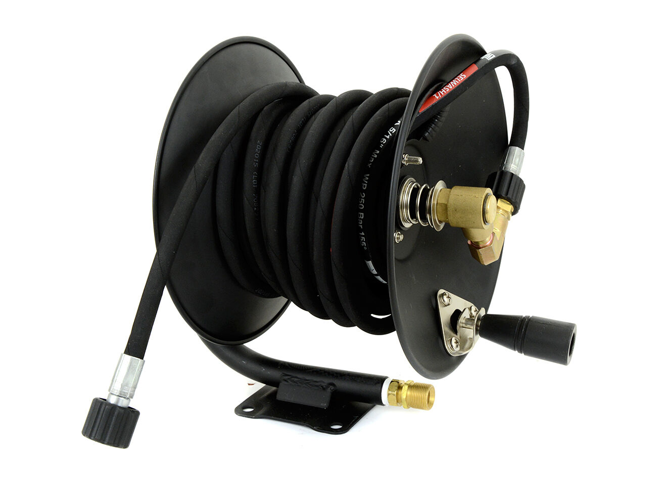 15m Profi Hochdruckschlauch 250bar DN6 11mm Nippel für Kärcher Hochdruckreiniger