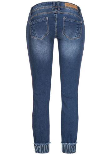 40/% OFF B18052585 Damen Eight2Nine Hose Jeans Crash Optik 5-Pockets  blau denim