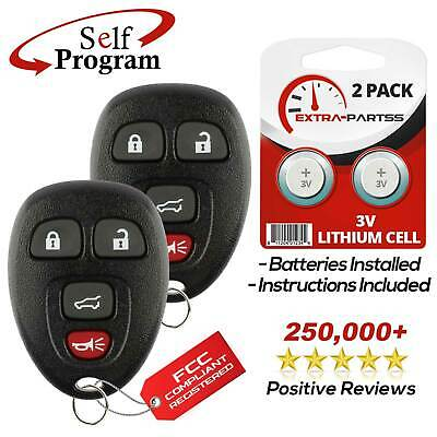 2 Replacement For 2007 2008 2009 2010 Chevrolet Suburban Flip Key Fob Remote