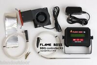 Flame Boss Universal Bbq Pit Controller For Weber Smokey Mountain Wsm Or Smoker