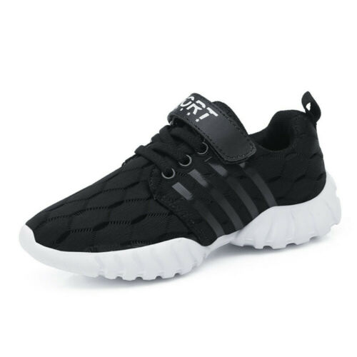 Boys Girls Sport Sneakers Toddler Kid Breathable Casual Running Mesh Shoes 26-36