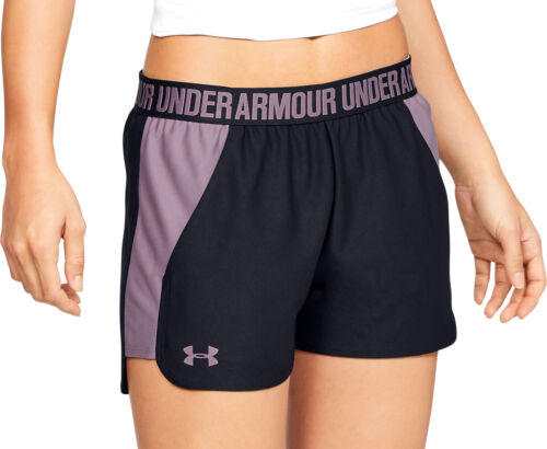 Under Armour Play Up 2.0 Womens Running Shorts Black Lightweight Loose Fit Short