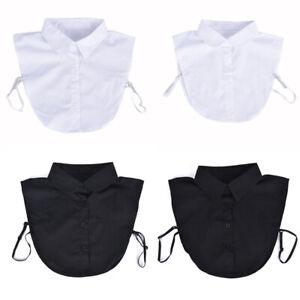 Detachable-Lapel-Fake-collar-Classic-False-Blouse-Removable-Women-Men-AccessoSS