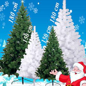 k nstlicher weihnachtsbaum christbaum tannenbaum tanne baum 150 180cm ebay. Black Bedroom Furniture Sets. Home Design Ideas