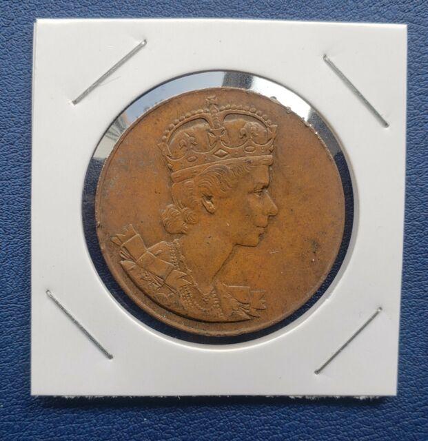 1953 Queen Elizabeth II Coronation Coin