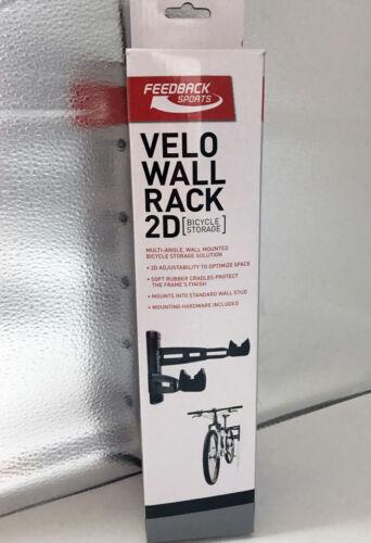 Feedback Bike Storage Rack Velo Wall Rack 2D Black #16856