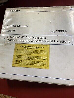 Repair Manual Cabrio 1999 Vw Electrical Wiring Diagrams ...