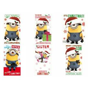 Minions Christmas Card Collection | eBay
