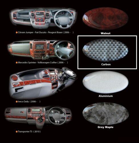 PEUGEOT BOXER di Carbonio Protezione per cruscotto 2002-2007 12 PZ