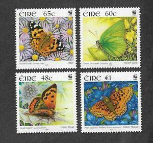Ireland-Butterflies-2005-mnh-set