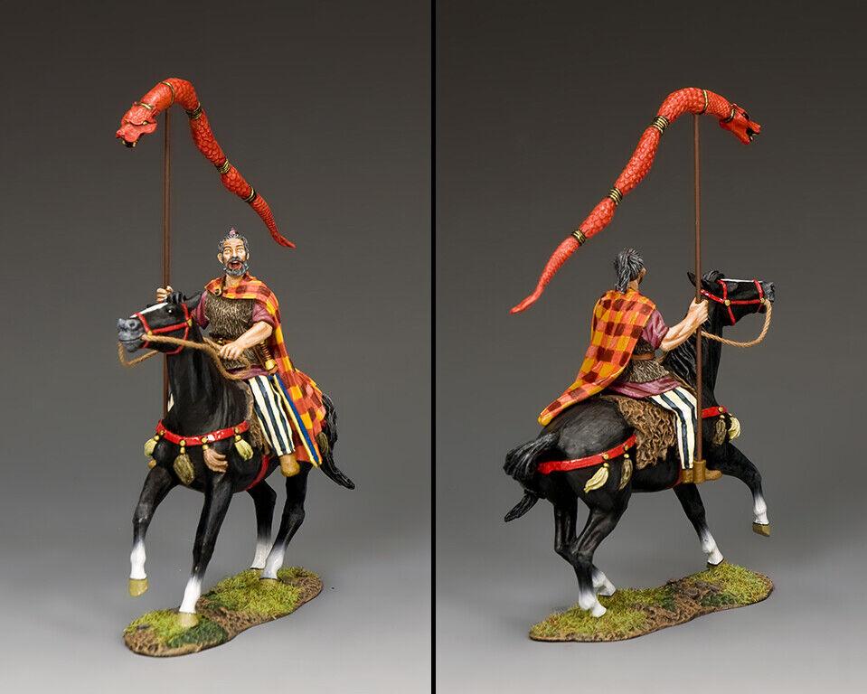 King & Country Roman Empire RNB014 Mountain Häuptling mit Draco Standard MIB