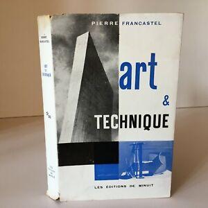 Pierre Francastel Art & Tecnica Alle XIX Secolo E Xxe I Edizioni Di Midnight